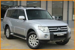 2007 Mitsubishi Pajero NS Exceed LWB (4x4) Silver 5 Speed Auto Sports Mode Wagon Blacktown Blacktown Area Preview