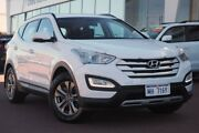 2015 Hyundai Santa Fe DM2 MY15 Active Creamy White 6 Speed Manual Wagon Wangara Wanneroo Area Preview