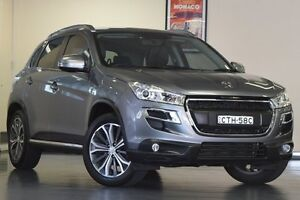 2013 Peugeot 4008 MY12 Allure 4WD Grey 6 Speed Constant Variable Wagon Chatswood Willoughby Area Preview
