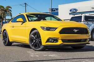 2017 Ford Mustang FM MY17 Fastback SelectShift Triple Yellow 6 Speed Sports Automatic Fastback Willagee Melville Area Preview
