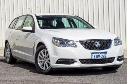 2014 Holden Commodore VF Evoke White 6 Speed Automatic Sportswagon Cannington Canning Area Preview