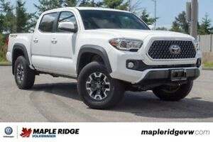2018 Toyota Tacoma TRD Off Road ONE OWNER, LOW KM, B.C. CAR!