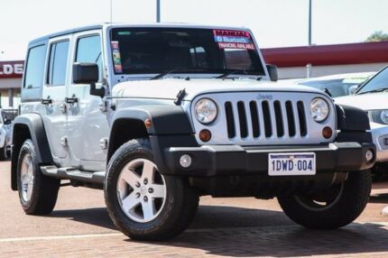 2012 Jeep Wrangler JK MY2013 Unlimited Sport Silver 5 Speed Automatic Softtop