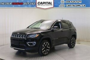 2017 Jeep Compass Limited 4WD *Moonroof-Navigation-Remote Start*