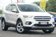 2017 Ford Escape ZG Trend PwrShift AWD White Platinum 6 Speed Sports Automatic Dual Clutch Wagon Moorooka Brisbane South West Preview