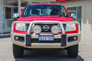 2010 Nissan Navara D40 MY10 ST-X Red 5 Speed Automatic Utility