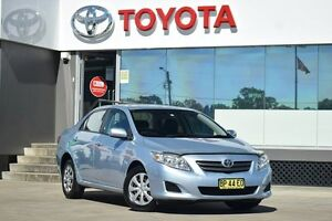 2010 Toyota Corolla ZRE152R MY09 Ascent Blue 4 Speed Automatic Sedan Old Guildford Fairfield Area Preview