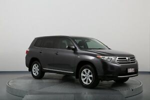 2013 Toyota Kluger GSU40R MY12 KX-R 2WD Grey 5 Speed Sports Automatic Wagon Old Guildford Fairfield Area Preview