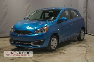 2019 Mitsubishi Mirage ES 5-SPEED BLACK ALLOY RIMS, BLACK ACCENT