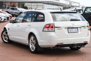 2009 Holden Commodore VE MY10 Omega Sportwagon White 6 Speed Sports Automatic Wagon