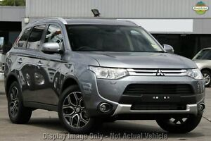 2014 Mitsubishi Outlander ZJ MY14.5 Aspire 4WD Grey 6 Speed Constant Variable Wagon Cannington Canning Area Preview