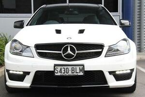 2014 Mercedes-Benz C63 C204 MY14 AMG SPEEDSHIFT MCT White 7 Speed Sports Automatic Coupe Hilton West Torrens Area Preview