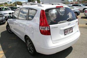 2012 Hyundai i30 FD MY11 SLX cw Wagon White 4 Speed Automatic Wagon