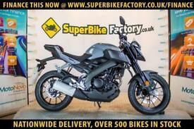 2017 67 YAMAHA MT-125 ABS