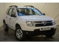 2013 Dacia Duster 1.5 AMBIANCE DCI 5d 107 BHP Diesel white Manual