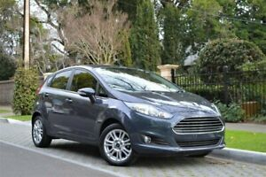 2015 Ford Fiesta WZ MY15 Trend PwrShift Grey 6 Speed Sports Automatic Dual Clutch Hatchback Hyde Park Unley Area Preview
