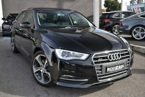 2015 Audi A3 8V MY16 Ambition Sportback S tronic quattro Black 6 Speed Sports Automatic Dual Clutch Burwood Whitehorse Area Preview