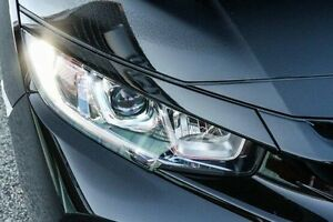 2017 Honda Civic MY17 VTi-L Crystal Black Continuous Variable Hatchback Wangara Wanneroo Area Preview