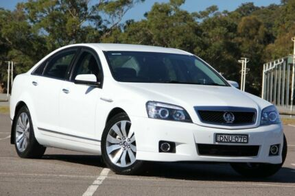 2014 Holden Caprice WN MY14 Heron White 6 Speed Sports Automatic Sedan