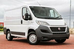 2017 Fiat Ducato Series 6 Low Roof SWB White 6 Speed Manual Van Bibra Lake Cockburn Area Preview