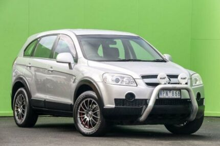 2007 Holden Captiva CG CX AWD Silver 5 Speed Sports Automatic Wagon Ringwood East Maroondah Area Preview