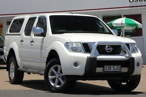 2012 Nissan Navara D40 S5 MY12 ST-X White 7 Speed Sports Automatic Utility Woolloongabba Brisbane South West Preview