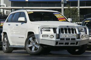 2014 Jeep Grand Cherokee WK MY15 Overland (4x4) White 8 Speed Automatic Wagon Penrith Penrith Area Preview