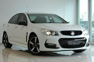 2016 Holden Commodore VF II MY16 SV6 Black White 6 Speed Sports Automatic Sedan Strathmore Heights Moonee Valley Preview