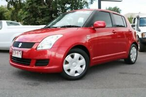 2007 Suzuki Swift RS415 S Red 5 Speed Manual Hatchback Earlville Cairns City Preview