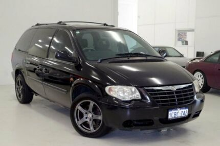 2005 Chrysler Grand Voyager RG 4th Gen MY05 SE Black 4 Speed Automatic Wagon Myaree Melville Area Preview