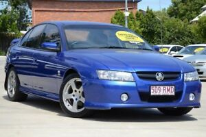 2004 Holden Commodore VZ SV6 Blue 6 Speed Manual Sedan Toowoomba Toowoomba City Preview