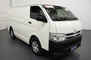 2012 Toyota Hiace KDH201R MY12 Upgrade LWB White Solid 4 Speed Automatic Van Moorabbin Kingston Area Preview