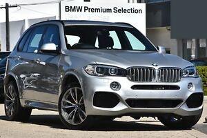2016 BMW X5 F15 xDrive40e Silver 8 Speed Sports Automatic Wagon Victoria Park Victoria Park Area Preview