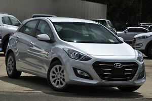 2016 Hyundai i30 GD4 Series 2 Active Silver 6 Speed Automatic Hatchback Wolli Creek Rockdale Area Preview