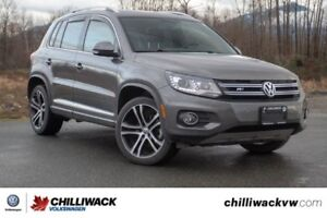 2017 Volkswagen Tiguan Highline ONE OWNER, NO ACCIDENTS, BC CAR!