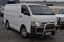 2008 Toyota Hiace KDH201R MY08 LWB White 5 Speed Manual Van Pearsall Wanneroo Area Preview