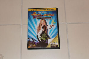 "Hannah Montana/Mylie Cyrus ""Best of both worlds concert"" dvd"
