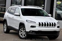 2014 Jeep Cherokee KL MY15 Longitude (4x4) Bright White 9 Speed Automatic Wagon Mosman Mosman Area Preview