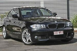2010 BMW 123d E82 MY10 Steptronic Black 6 Speed Sports Automatic Coupe Mount Gravatt Brisbane South East Preview