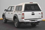 2010 Ford Ranger PK XLT Crew Cab White 5 Speed Automatic Utility Hendra Brisbane North East Preview