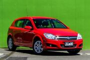 2008 Holden Astra AH MY08 CDTi Red 6 Speed Sports Automatic Hatchback Ringwood East Maroondah Area Preview