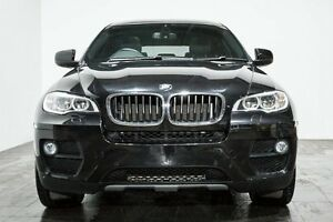 2013 BMW X6 E71 LCI MY1112 xDrive30d Coupe Steptronic Black 8 Speed Sports Automatic Wagon Rozelle Leichhardt Area Preview