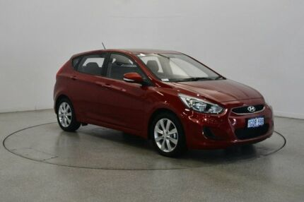 2018 Hyundai Accent RB6 MY18 Sport Pulse Red 6 Speed Sports Automatic Hatchback Victoria Park Victoria Park Area Preview