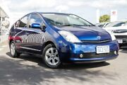 2008 Toyota Prius NHW20R I-Tech Galaxy Blue 1 Speed Constant Variable Liftback Hybrid Glendalough Stirling Area Preview