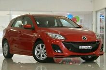 2010 Mazda 3 BL10F1 Maxx Activematic Sport Red 5 Speed Sports Automatic Hatchback Waitara Hornsby Area Preview