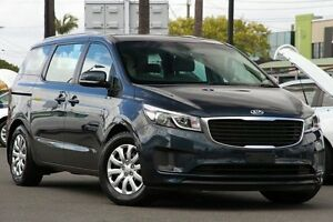 2015 Kia Carnival YP MY15 S Blue 6 Speed Sports Automatic Wagon Macgregor Brisbane South West Preview