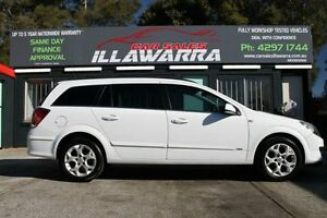 2006 Holden Astra AH MY06.5 CDX White 4 Speed Automatic Wagon Barrack Heights Shellharbour Area Preview