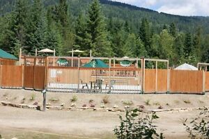Full Service Year Round Sites in the West Kootenay's