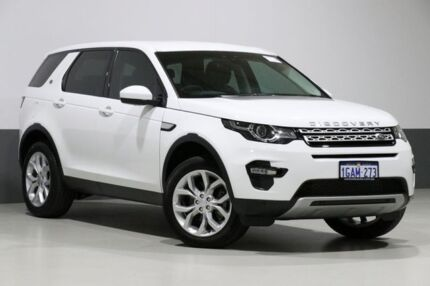 2016 Land Rover Discovery Sport LC MY16 Td4 HSE White 9 Speed Automatic Wagon Bentley Canning Area Preview