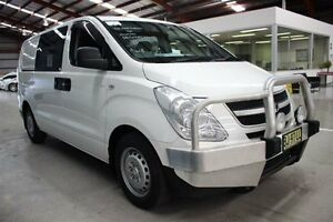2010 Hyundai iLOAD TQ-V Crew Cab White 5 Speed Sports Automatic Van Maryville Newcastle Area Preview